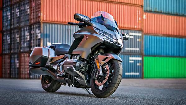Spy Shoot 2021 Honda Goldwing Trike