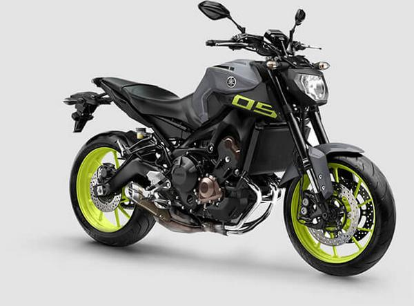 New Yamaha MT 09 2021