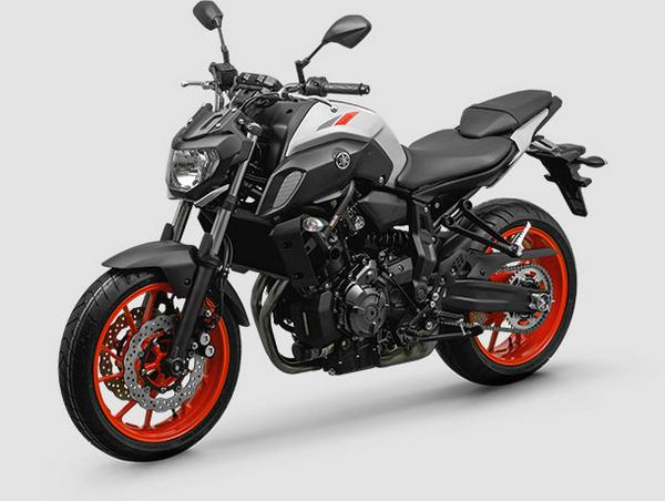 New Yamaha MT 07 2021