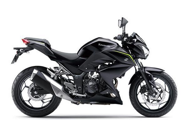 New Kawasaki Z300 ABS 2021
